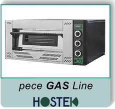 pizza pece Hostek - Gas line
